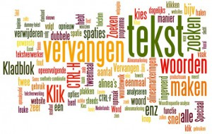word-cloud tekst